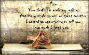 Sad-quote-to-express-grief-of-losing-a-mother-to-death